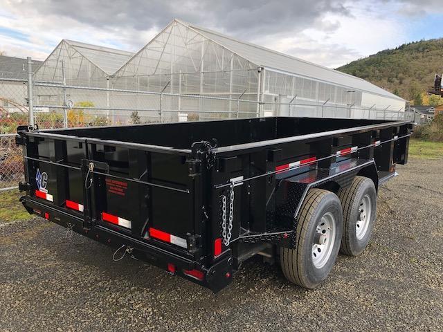 "2018 Diamond C 82""x14 Low Pro Dump Trailer J1194992"