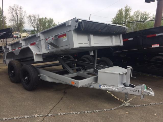 "2017 Diamond C 77""x12 Economy Dump Trailer H1187744"