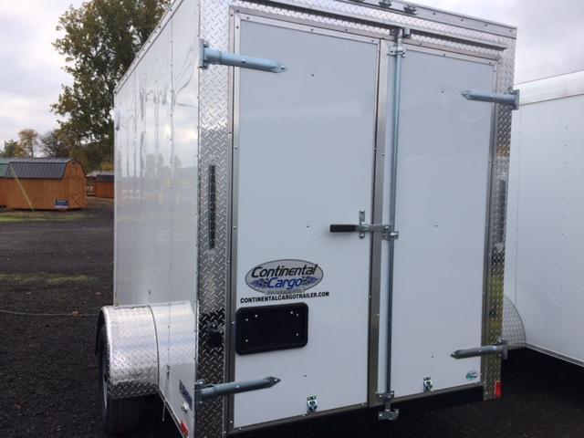 2018 6x10 Continental Cargo Trailer JF711258