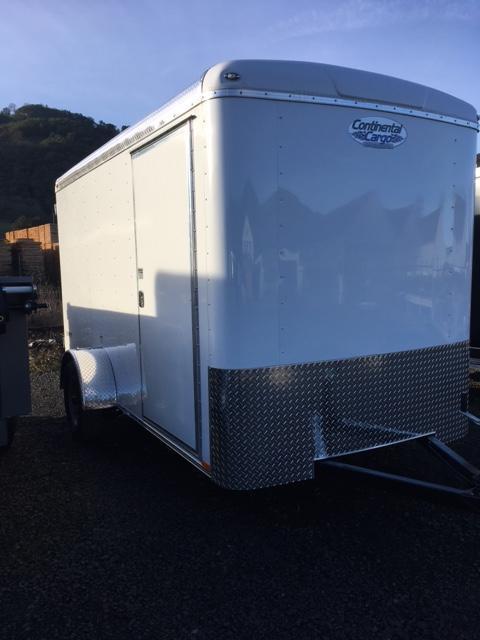 2018 6x12 Continental Cargo Trailer JF711255