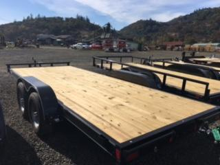 "2018 Diamond C 83""x18 Car Hauler Flatbed Trailer J1193857"