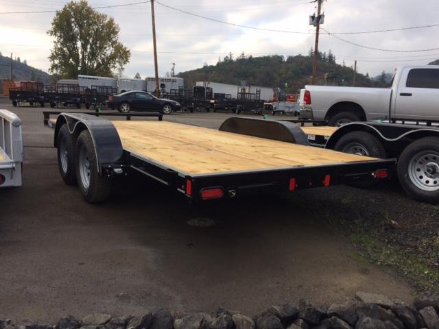 "2018 Diamond C 83""x16 Car Hauler Flatbed Trailer J1194350"
