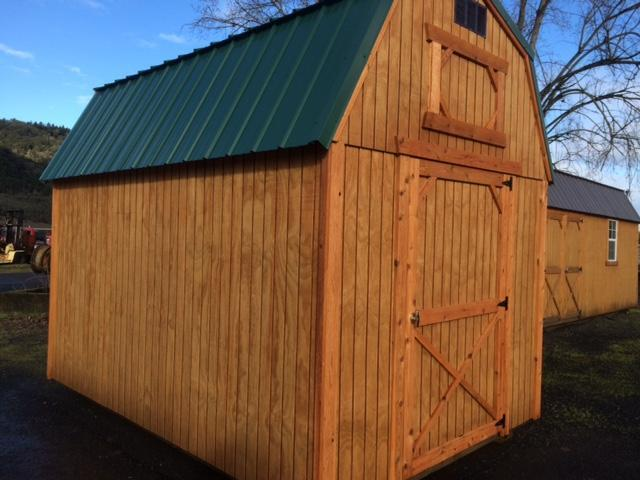 Old Hickory Shed 8x12 Lofted Barn T2223