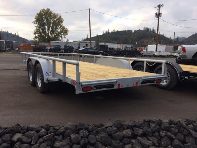 "2018 Diamond C 83""x16 Utility Trailer J1194476"