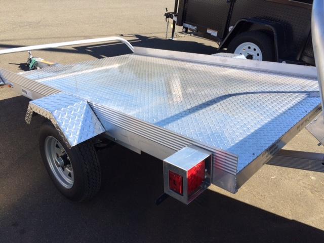 2016 Premier Plus 5x8 Aluminum Tilt Bed Flatbed Trailer G1003117
