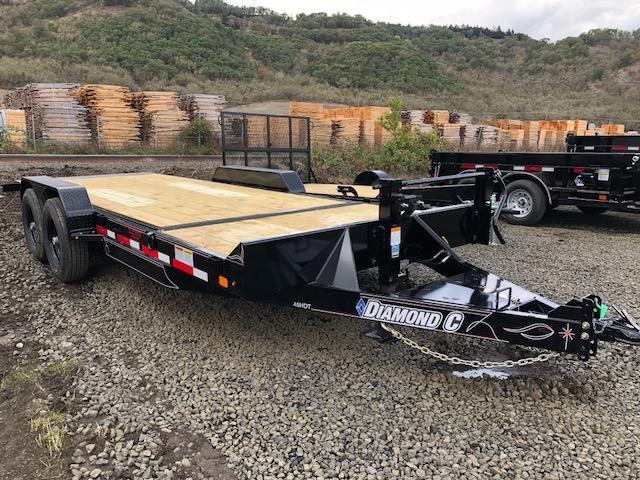 """2018 Diamond C 82""""x20 Split Deck Tilt Flatbed Trailer J1194933"""