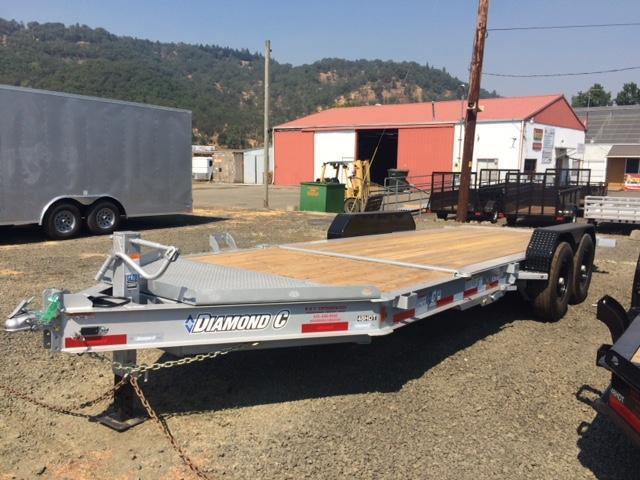 "2017 Diamond C 82""x20 Flatbed Trailer H1191760"