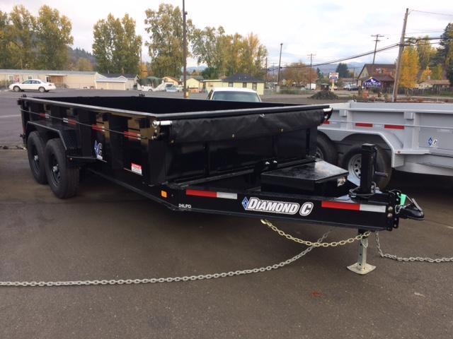 "2018 Diamond C 82""x14 Low Pro Dump Trailer J1194129"