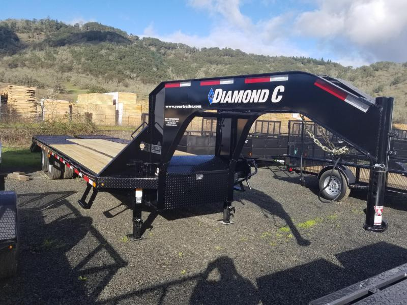2018 Diamond C Trailers FMAX210 GOOSENECK FLATBED ENGINEERED FRAME RAMPS J11981214