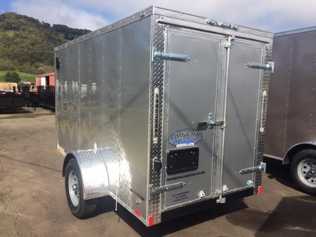 2018 5x10 Continental Cargo Trailer JF708087