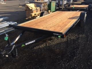 2018 Summit 7x14 ATV Flatbed Trailer J1002095