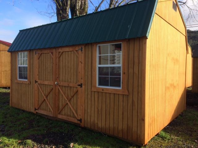Old Hickory Shed 12x16 Side Lofted Barn L1804