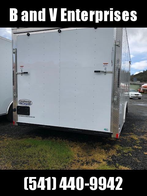 2020 Continental Cargo Car hauler VHW8520TA2  8.5 X 20 Enclosed Cargo Trailer #LF717980