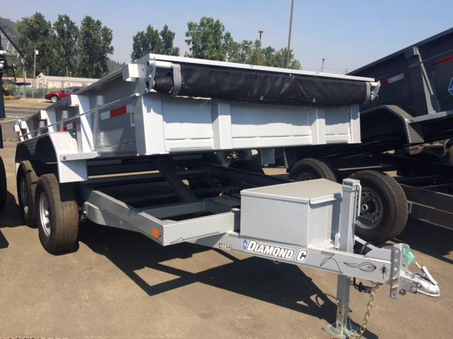 "2017 Diamond C 77""x12 Dump Trailer H1191761"