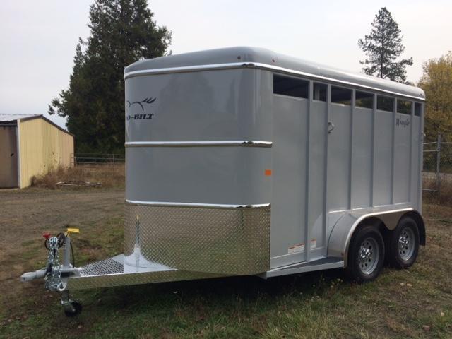 2018 Thuro-Bilt 2H Wrangler Horse Trailer JR180046