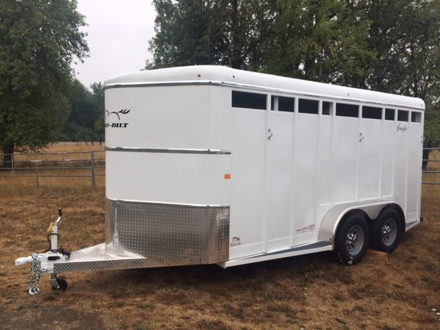 2018 Thuro-Bilt 3H Wrangler Horse Trailer JR180023