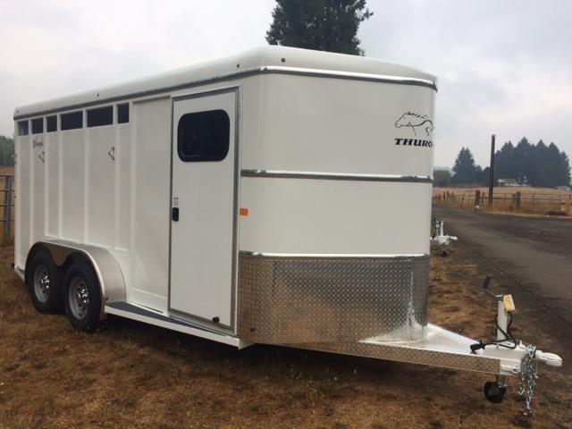 2018 Thuro-Bilt 3H Wrangler Plus Horse Trailer JR180023