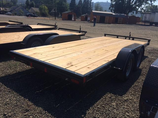 "2017 Diamond C RC83""x16 Flatbed Trailer H1191655"