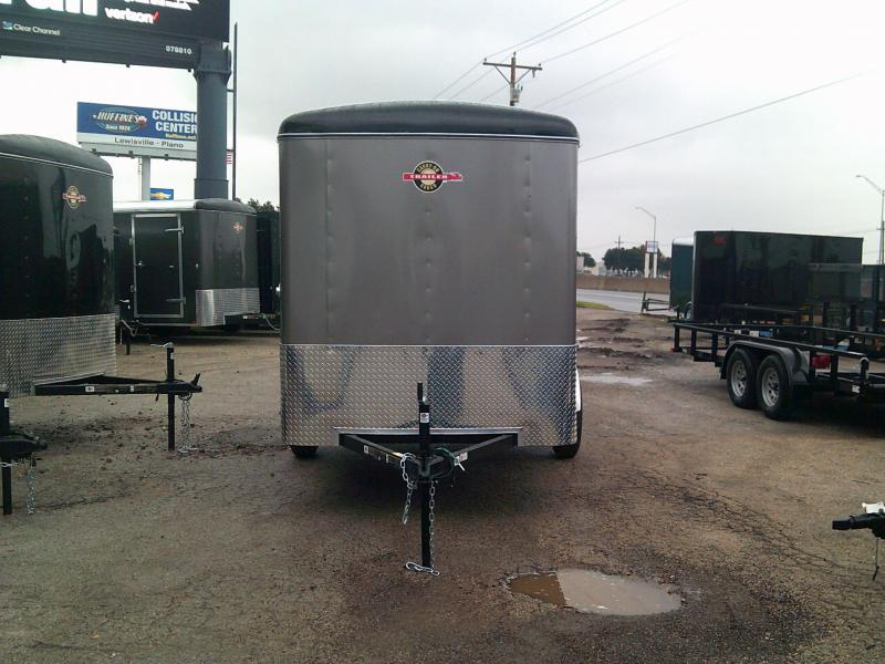 2019 Carry-On 6X12 Enclosed Cargo Trailer REAR DOOR