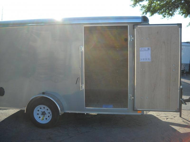 2018 Carry-On 7X12 Enclosed Cargo Trailer W/ Rear Ramp
