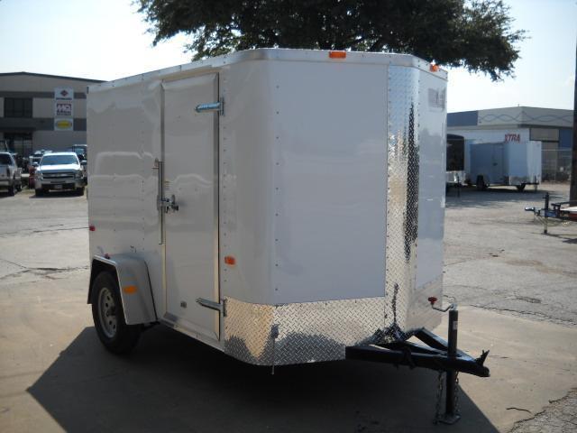 2016 Cargo Craft EV6101 Enclosed Cargo Trailer