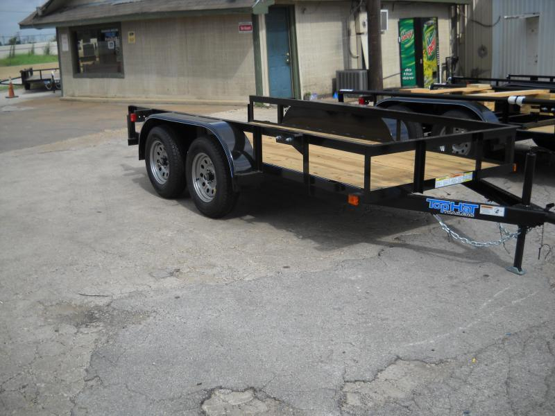 2019 Top Hat Trailers 5X10 TANDEM AXLE Utility Trailer