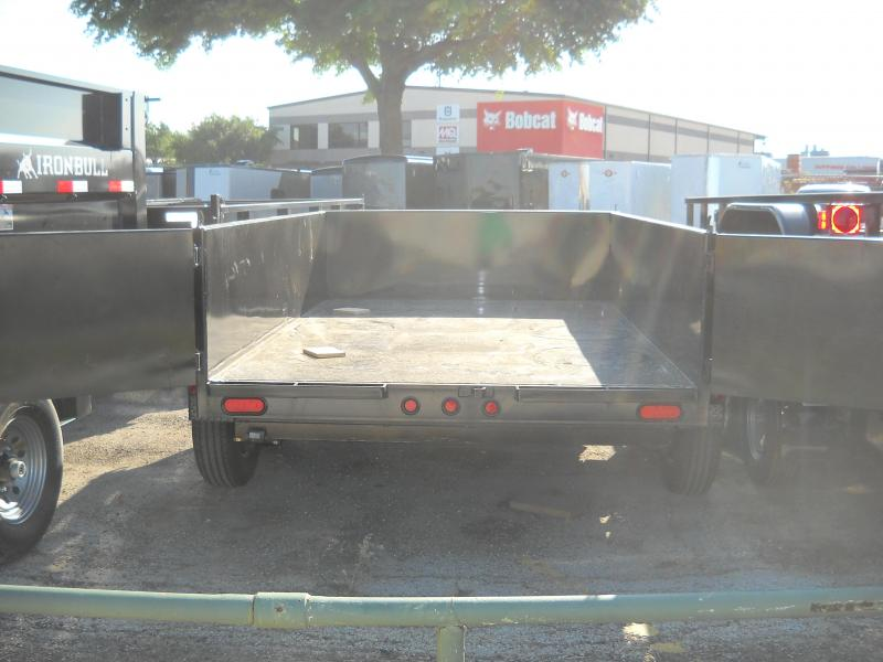 2018 Top Hat Trailers 6.5X10 Dump Trailer