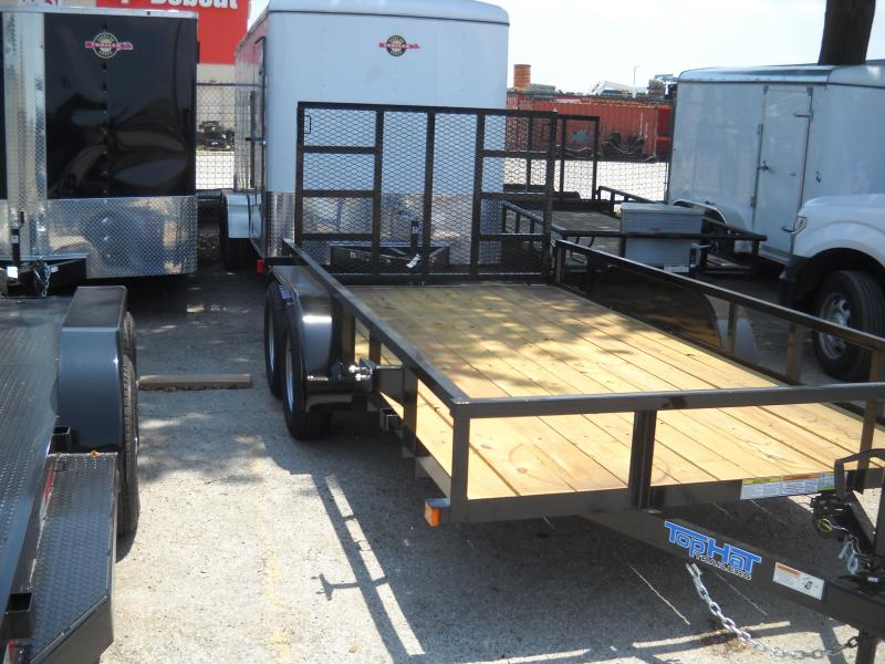 2018 Top Hat Trailers 6.5X16 Utility Trailer