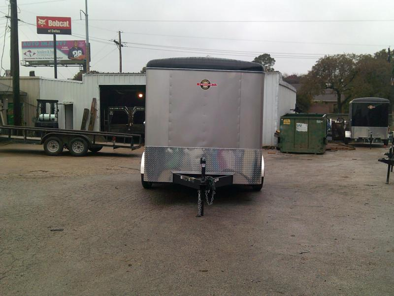 2019 Carry-On 7X12 Enclosed Cargo Trailer W/ Rear Ramp