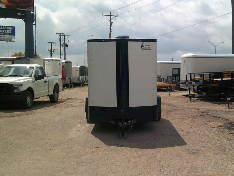 2019 Cargo Craft 6X12 Enclosed Cargo Trailer W/ REAR RAMP
