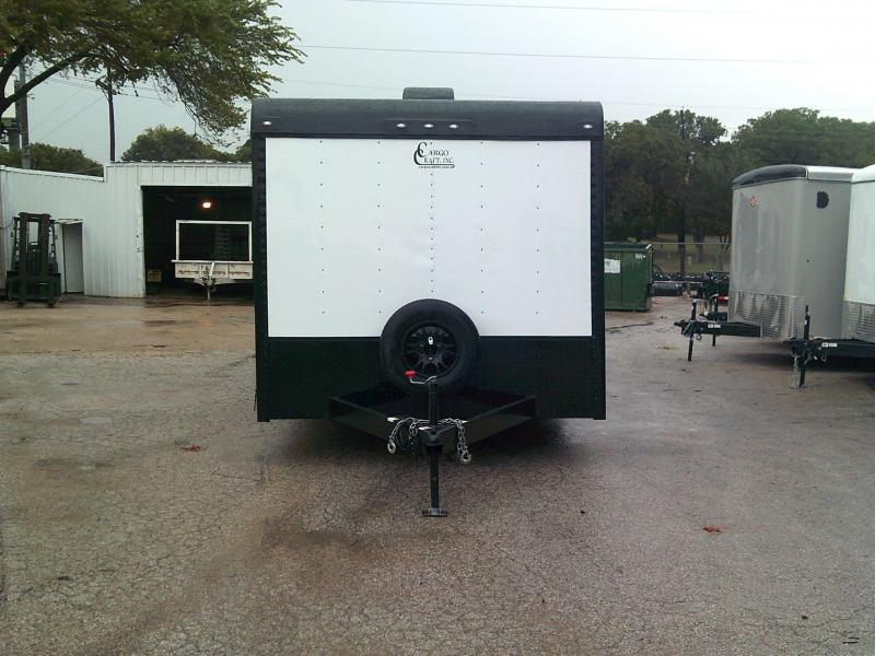 2018 Cargo Craft 8.5X20 Enclosed Car Cargo Trailer