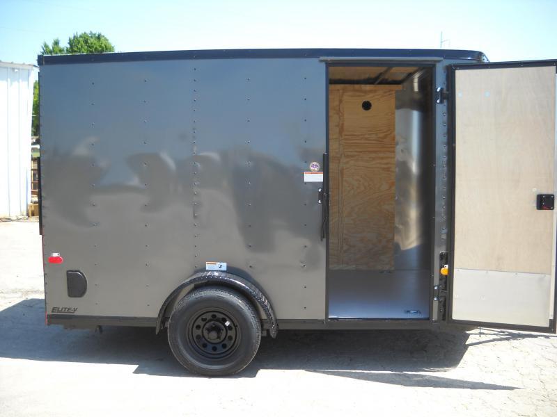 2018 Cargo Craft 7X12 Enclosed Cargo Trailer