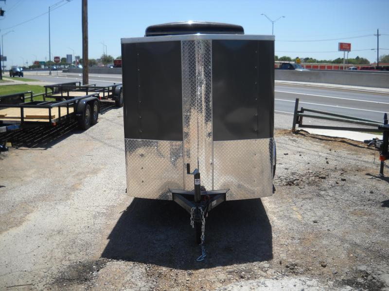 2018 Carry-On 5X10 Bullnose Enclosed Cargo Trailer