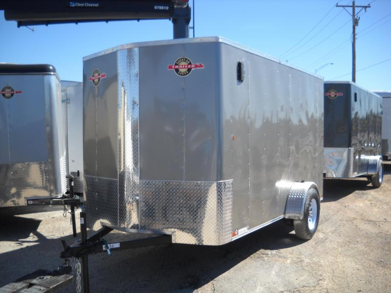 2018 Carry-On 6X12 Bull Nose Enclosed Cargo Trailer