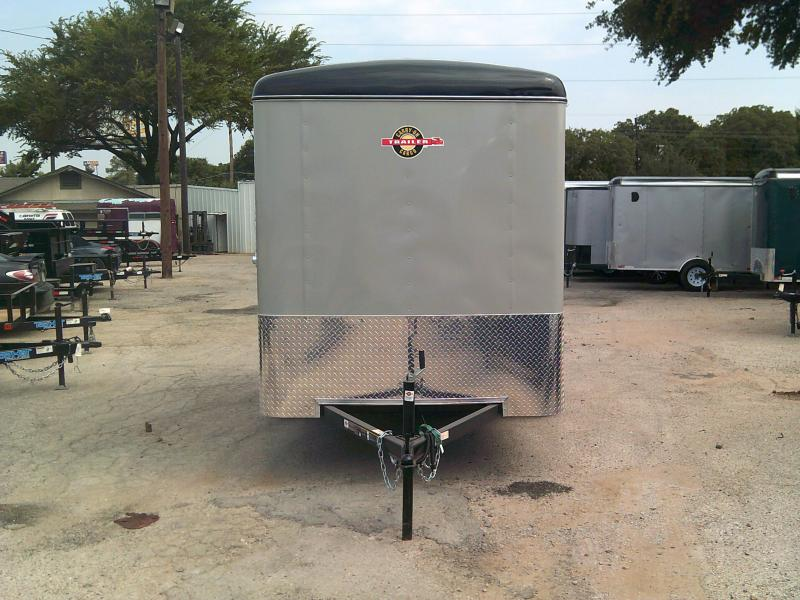 2018 Carry-On 6x12 Enclosed Cargo Trailer W/ Rear Ramp