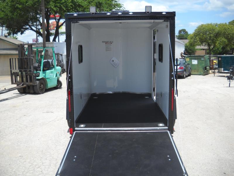 2018 Cargo Craft 6X12 Enclosed Cargo Trailer W/ Rear Ramp