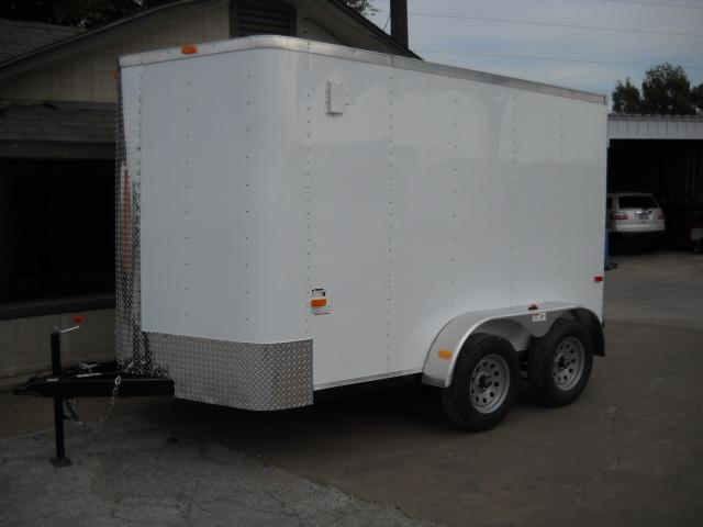 2017 Cargo Craft EV7122 Enclosed Cargo Trailer