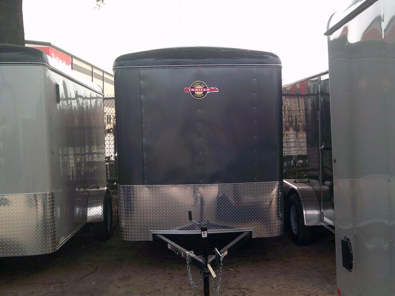 2018 Carry-On 6X10 Enclosed Cargo Trailer W/ Rear Ramp