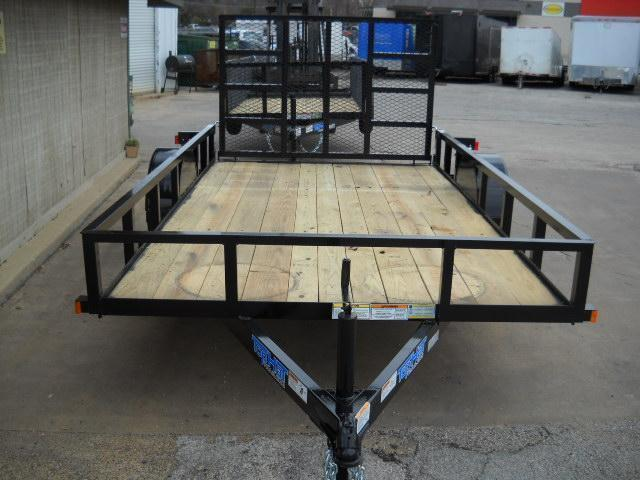 2018 Top Hat 6.5X14 Tandem Axle Utility Trailer