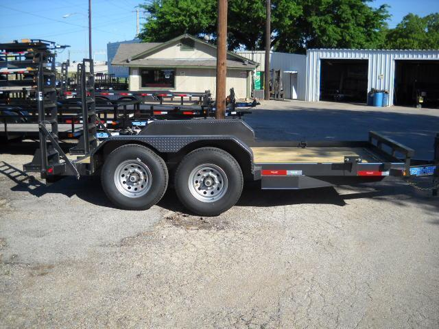 2018 Top Hat Trailers SSBC14X7-14E-F Equipment Trailer