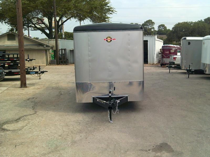 2018 Carry-On 7x16 Enclosed Cargo Trailer W/ Rear Ramp