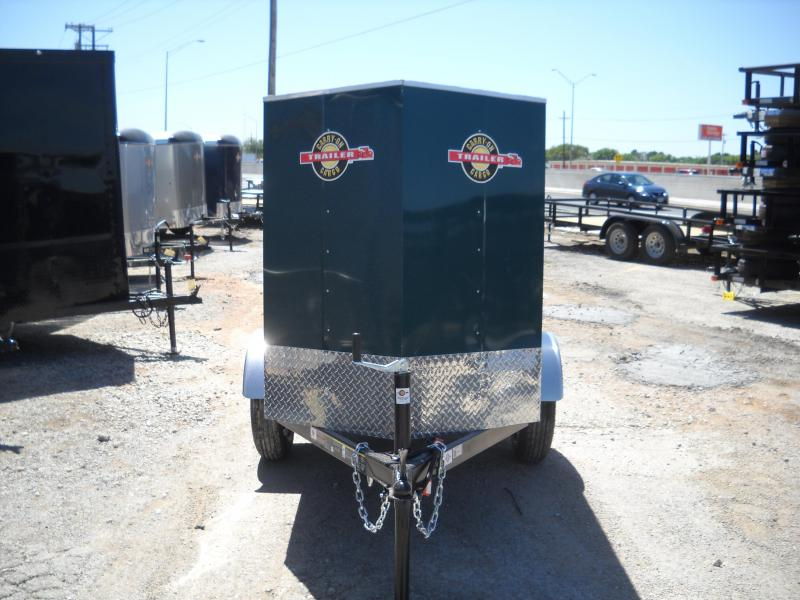 2018 Carry-On 4x6 Enclosed Cargo Trailer