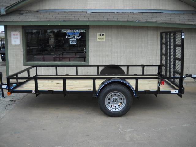 2018 Top Hat Trailers 5X12 Utility Trailer