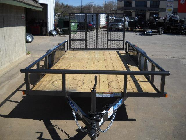 2018 Top Hat 6.5X16 Utility Trailer Pipe Top