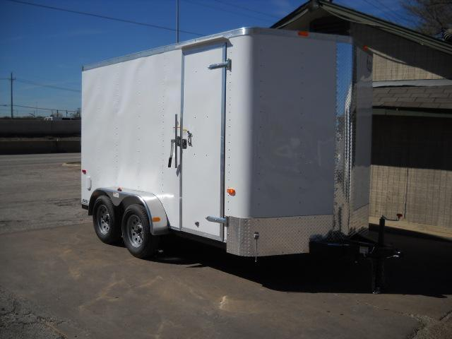2017 Cargo Craft EV7142 Enclosed Cargo Trailer