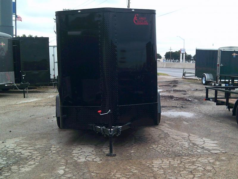 2019 Cargo Craft 6X12 Enclosed Cargo Trailer W/ REAR RAMP