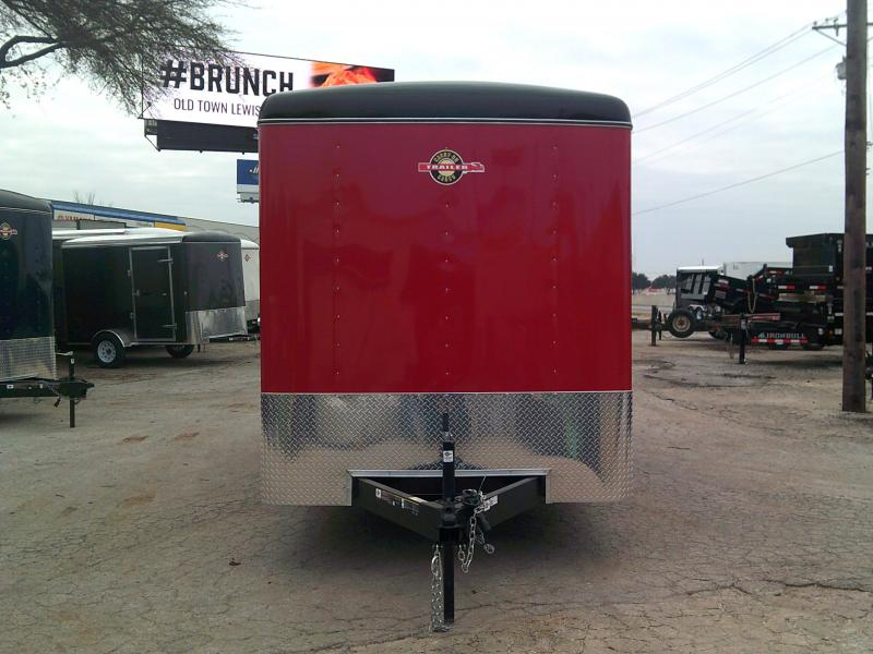 2019 Carry-On 7X16 Enclosed Cargo Trailer W/ REAR RAMP