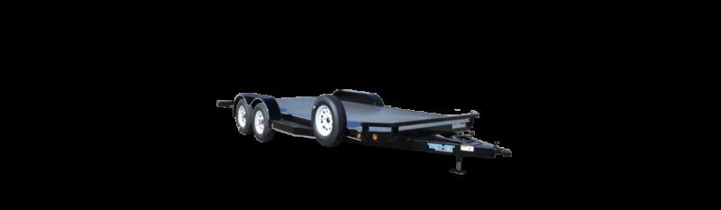 2019 Top Hat Trailers 7X18 ALL STEEL Car / Racing Trailer