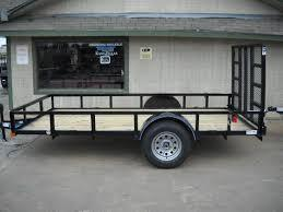 2018 Top Hat Trailers 6.5X12 Utility Trailer