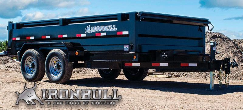 2019 Iron Bull DTB 7x16 Dump with Tarp